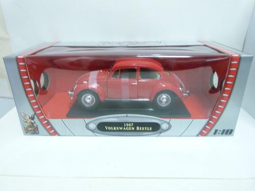 miniatura 1967 volkswagen fusca beetle 1:18 road signature