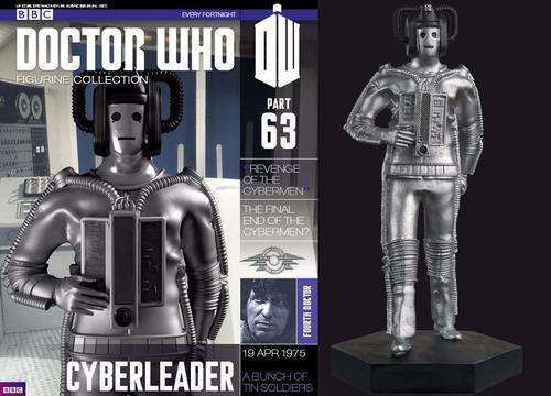miniatura 63 cyberleader doctor who figurine bonellihq h18