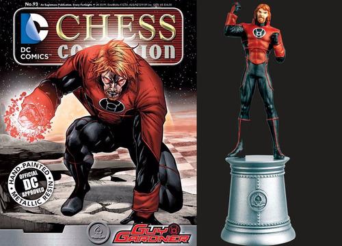miniatura 93 guy gardner - dc chess - bonellihq j17