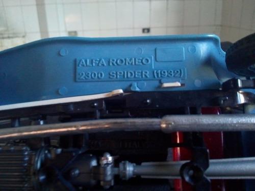 miniatura alfa romeo spider 1932.