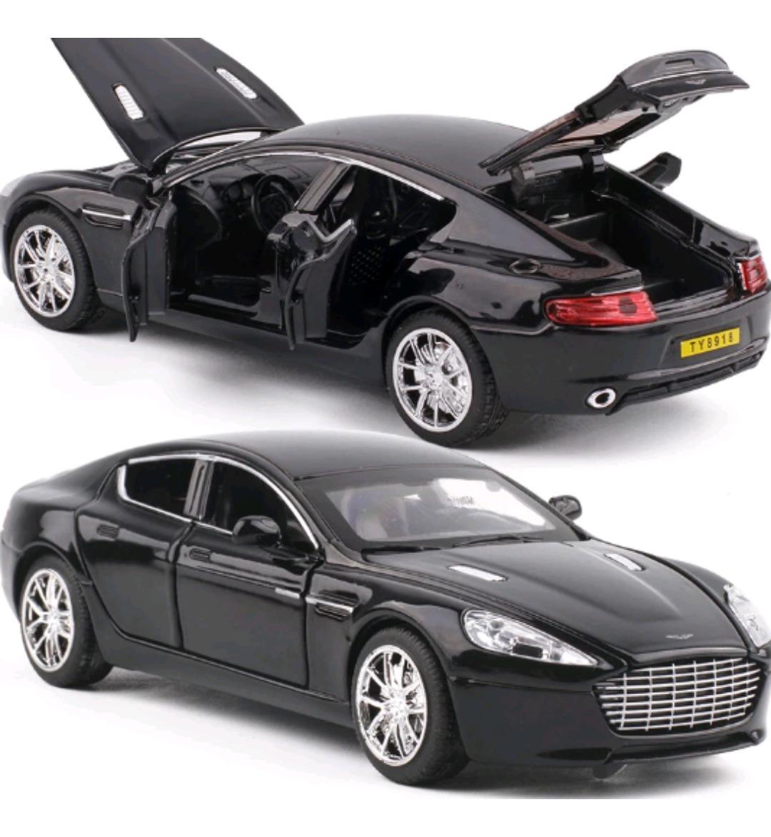 Miniatura Aston Martin Rapide 1:32 Abre 4 Portas Capo E