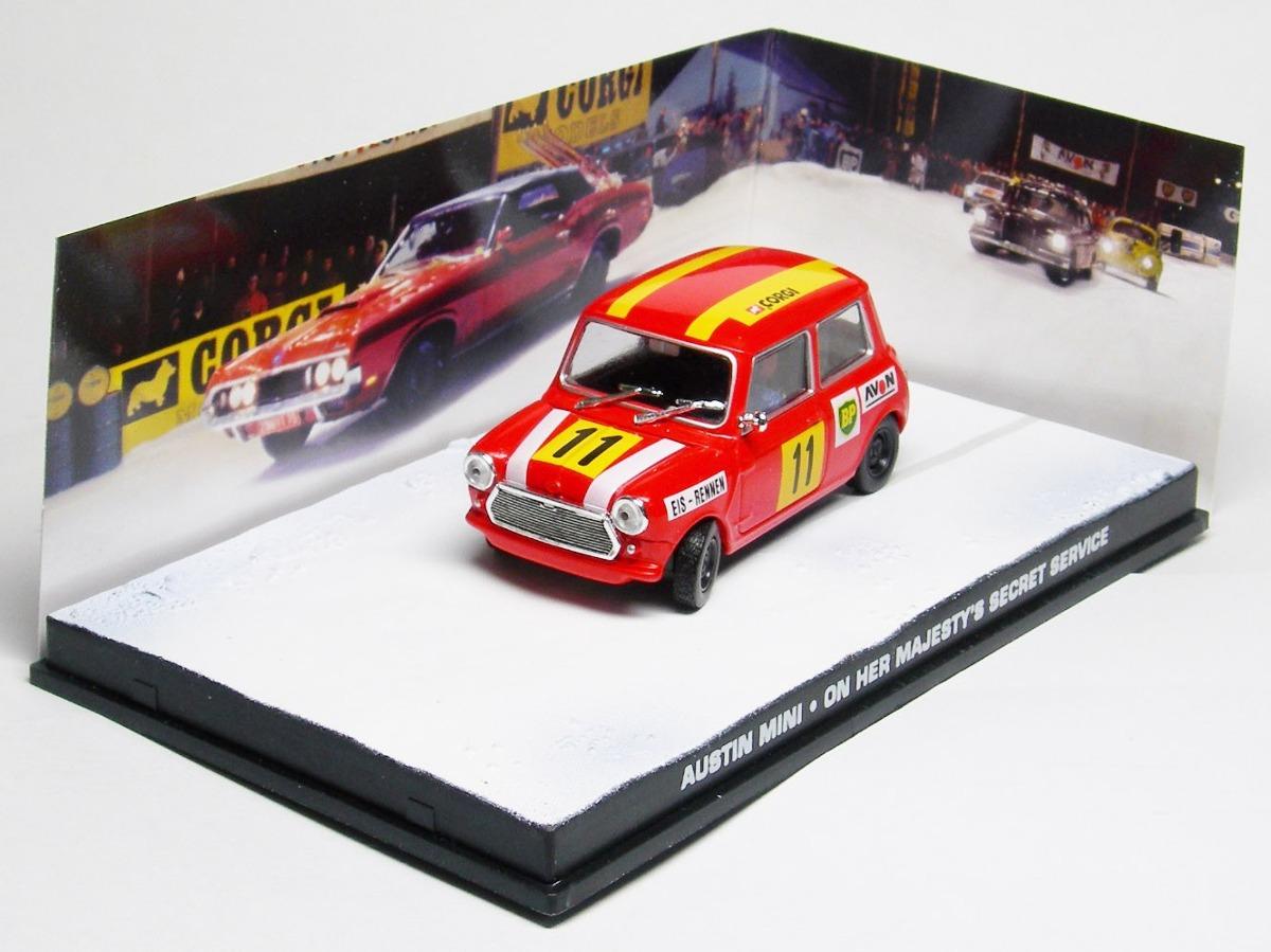 Miniatura Austin Mini Cooper Stock Car James Bond 007 Ed 71 R 69