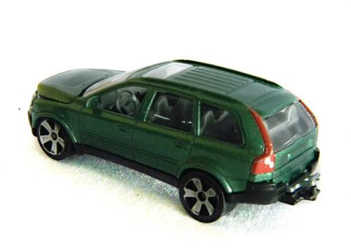 miniatura automovel volvo xc90 esc.1:64 majorette