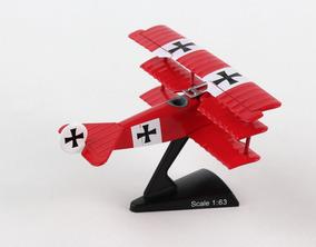 Fokker Dr 1 Red Baron Triplane Diecast - Brinquedos e Hobbies no