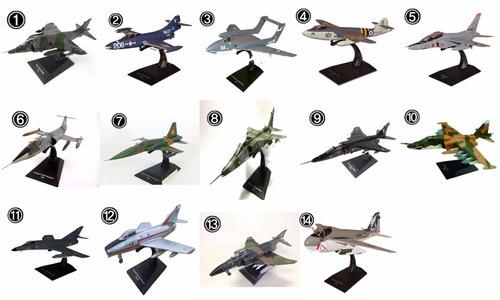 miniatura avião jato de combate 4 modelos frete grátis