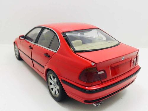 miniatura bmw 328i vermelho ut 1/18