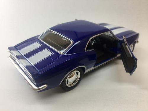 miniatura camaro z-28 1967 cores variadas
