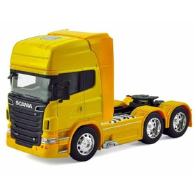 Miniatura Caminhão Scania V8 R730 Trucado 6x2 Escala 1:64