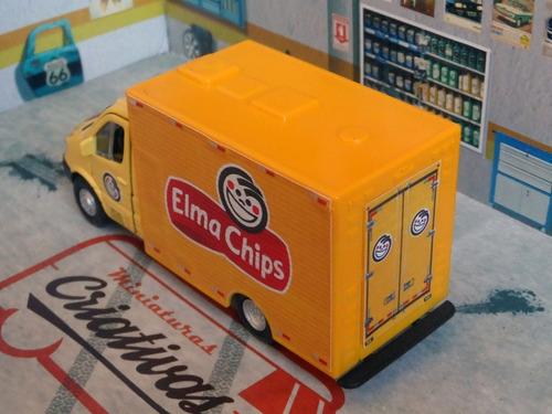 miniatura caminhão elma chips