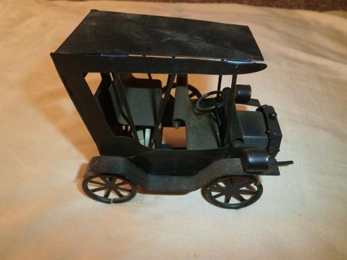 miniatura carro antigo artesanato feito à mão-caixa de músic