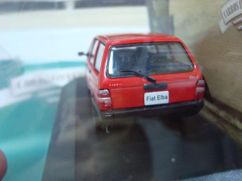 miniatura carros inesquecíveis do brasil fiat elba 1986 1/43