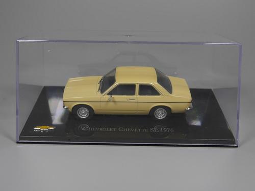 miniatura - chevrolet chevette sl - bege -1976  - 1:43 - ixo