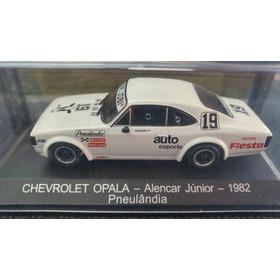 Miniatura Chevrolet Opala 1/43 Stock Car Alencar Junior 1982