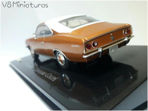 miniatura chevrolet opala coupe 1975 -  chevrolet collection