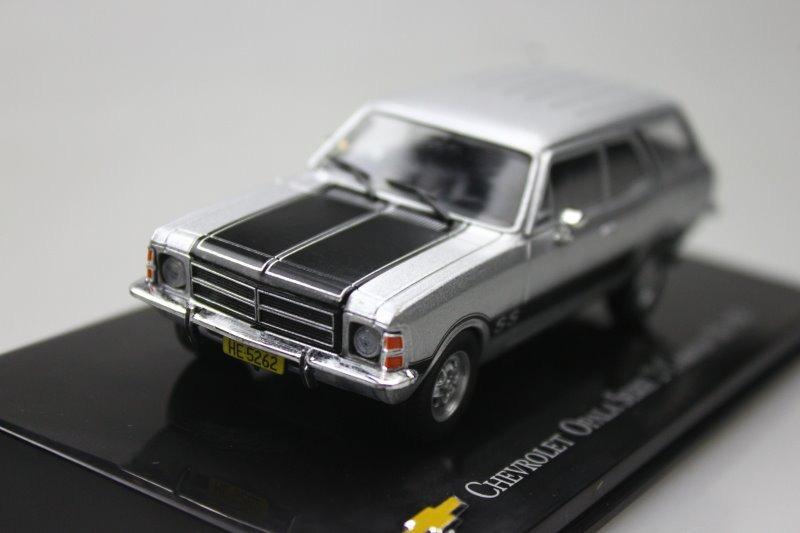 ixo 1:43 Chevrolet Opala Serie 2 Caravan SS 1979 Diecast model car