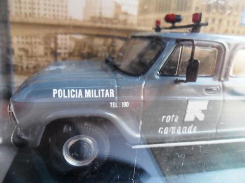 miniatura chevrolet veraneio rota são paulo policia militar