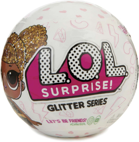 miniatura colecionavel lol glitter surprise
