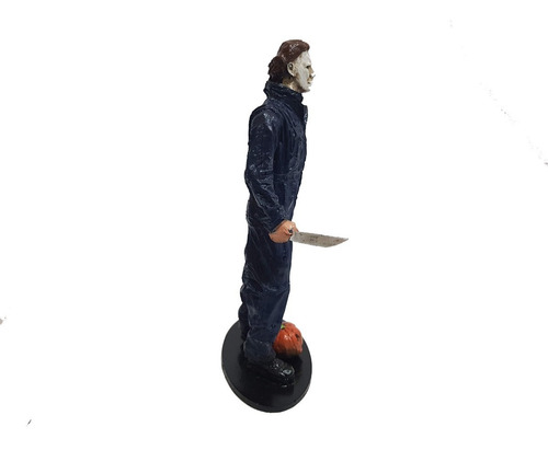 miniatura colecionavel michael myers halloween resina 20cm