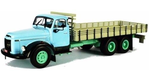 miniatura de caminhão volvo l395 titan 1957 1:43 ixo