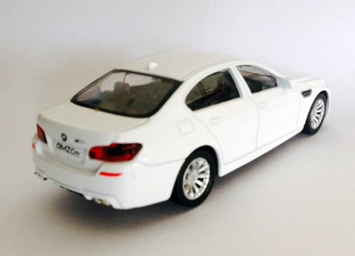 miniatura de carro bmw m5 branca 1:43 california junior
