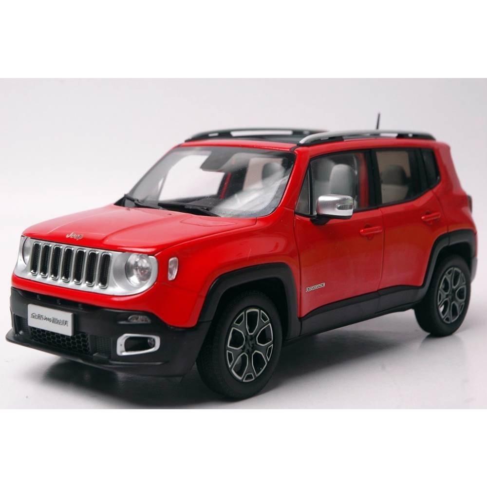 New Jeep Renegade >> Miniatura De Carro Jeep Renegade Vermelho 1:18 Paudi 870020 - R$ 709,90 em Mercado Livre