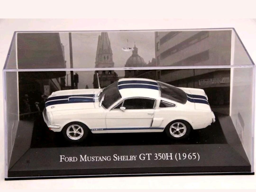 Miniatura de ford mustang shelby gt 1965 r 118 00 em mercado livre
