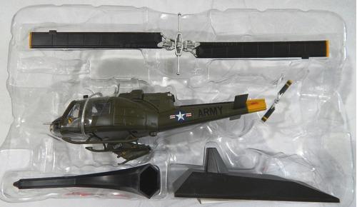 miniatura de helicoptero deagostini numeros 1 bell iroques