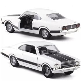 Miniatura De Metal Chevrolet Opala Ss Escala 1:43 Branco