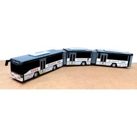 Miniatura De Ônibus Biarticulado Artesanal - Encomendas