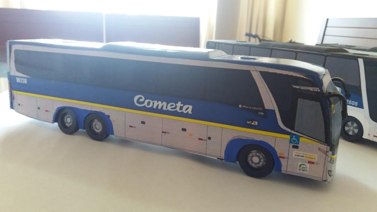 5222e1b865 Miniatura De Onibus Cometa - 27 Cm Rodas Giram - R$ 59,00 em Mercado ...