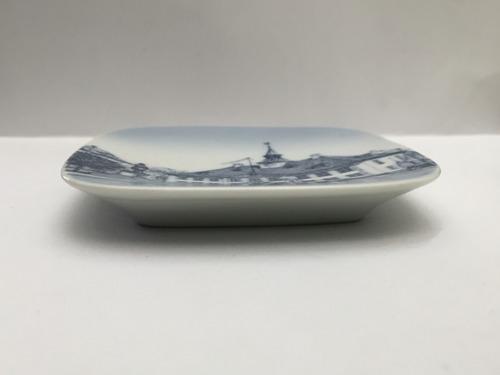 miniatura de porcelana plato coleccionable - mika pao