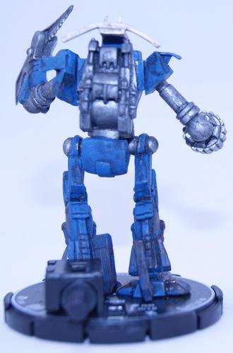 miniatura de robô mechwarrior battletech - hatchetman 3