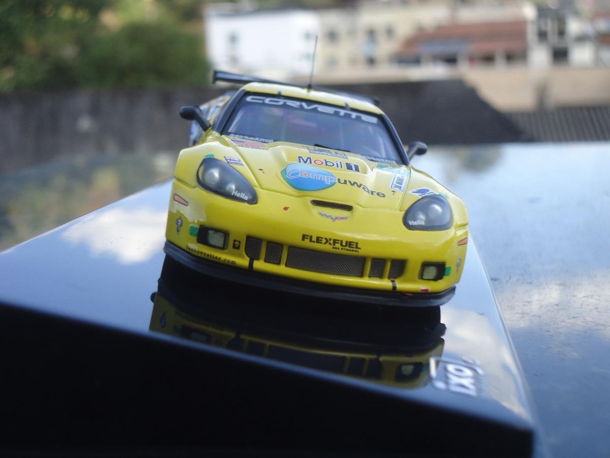 Miniatura De Veiculo Corvette C6 Zr1 24 Heures De Le Mans