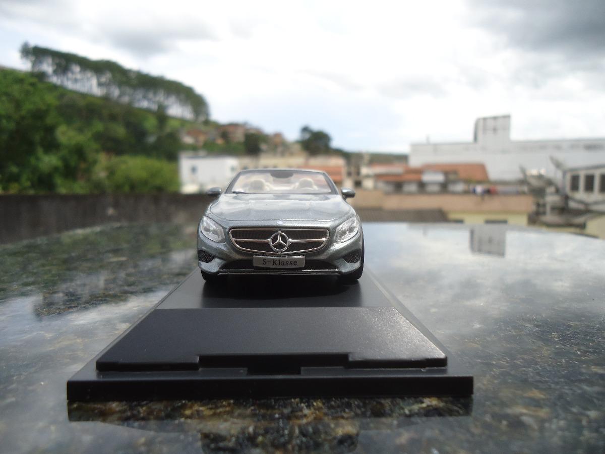 Miniatura De Veiculo Mercedes Benz S Class Cabrio Esc1;43. Carregando Zoom.
