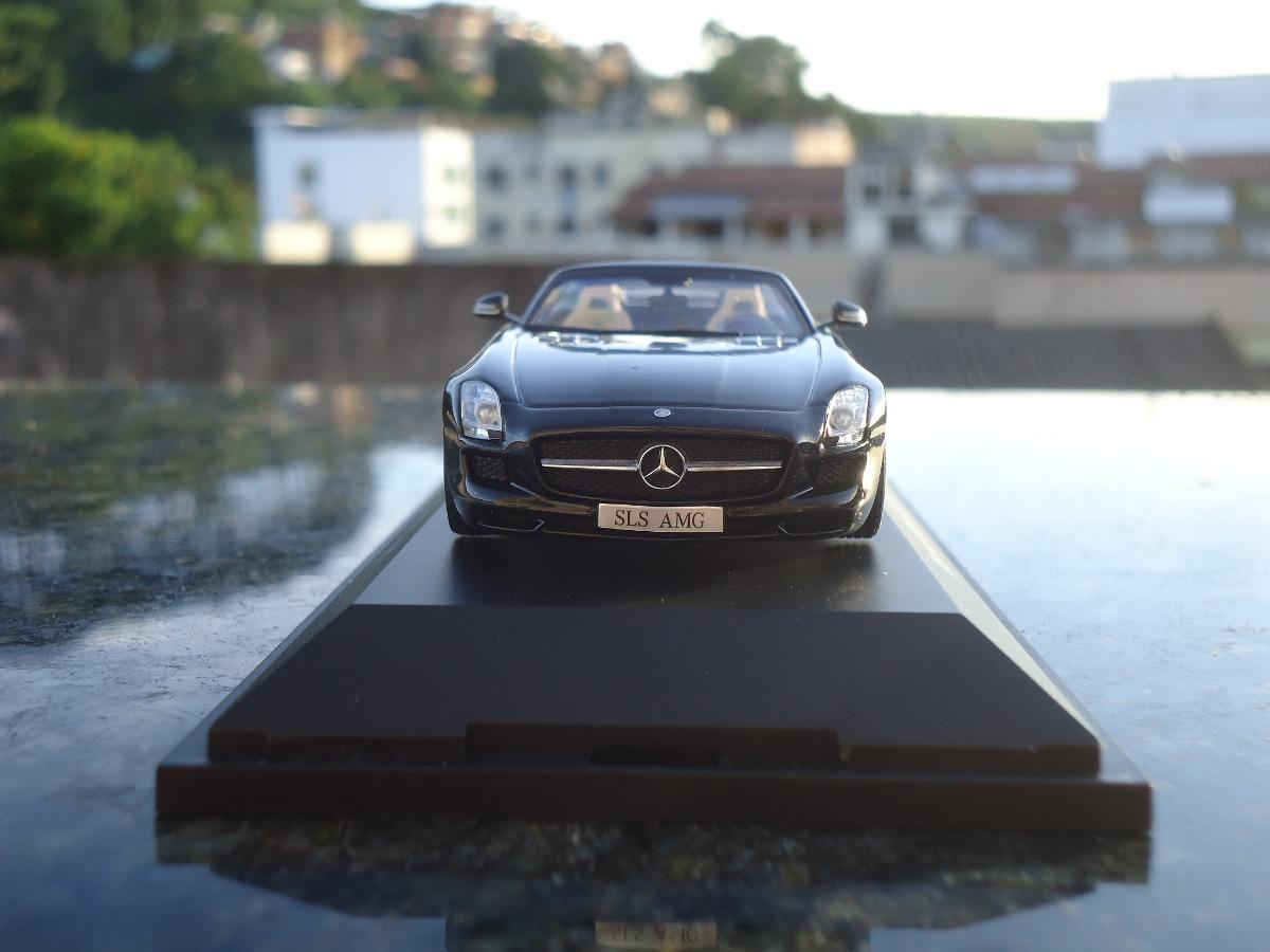 Miniatura De Veiculo Mercedes Benz Sls Amg Roadster Esc 1;43. Carregando  Zoom.