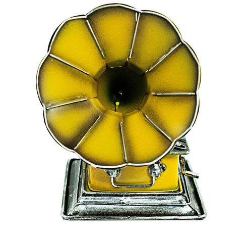 miniatura de vitrola em metal clássica, vintage