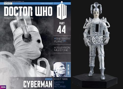 miniatura doctor who 44 cyberman - bonellihq h18