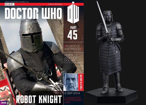 miniatura doctor who 45 robot knight - bonellihq h18