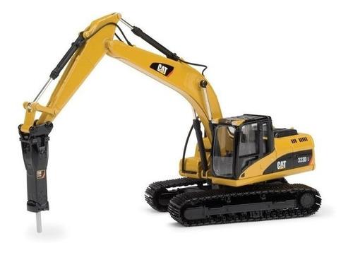 miniatura escavadeira 323dl cat - 55282 - 1:50 norscot