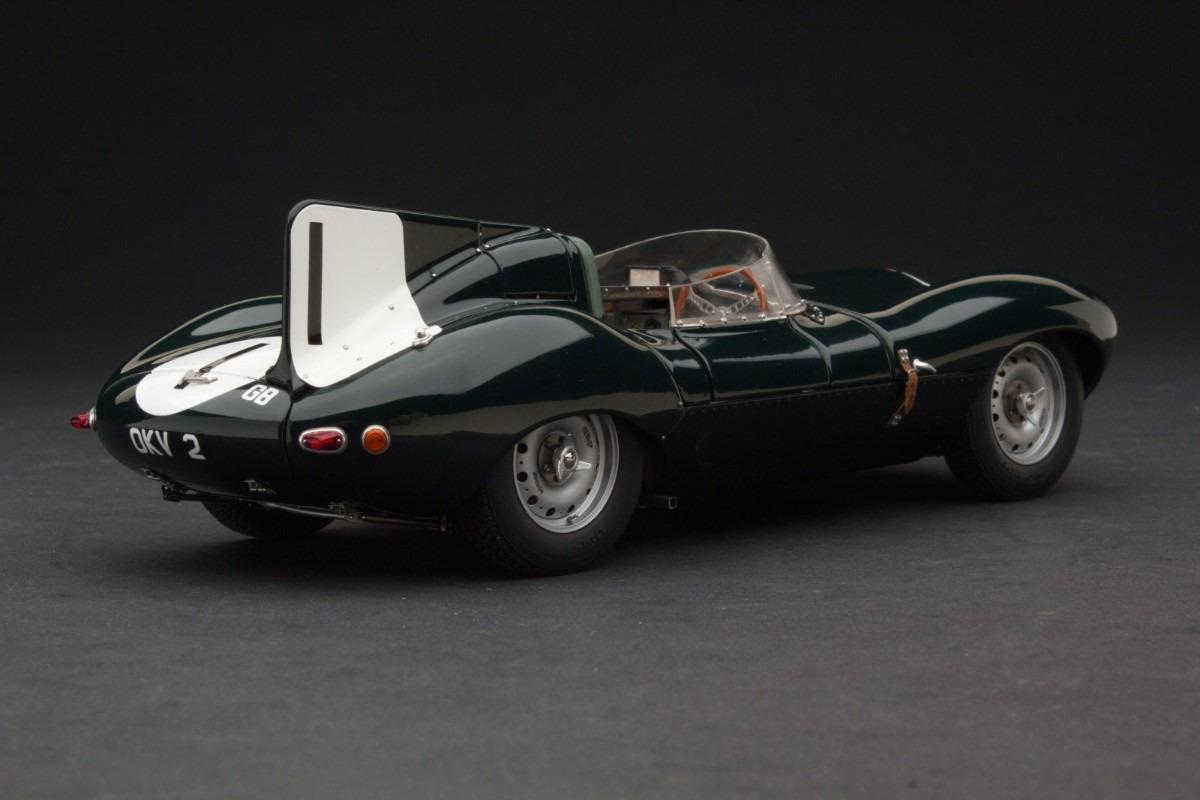 Miniatura Exoto Jaguar D Type Short Nose Reims 1954 1 18