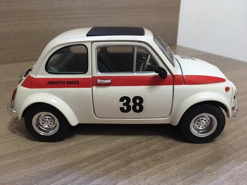 miniatura fiat 1963 abarth 695ss 1:18