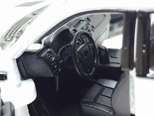 miniatura ford f-150 svt raptor 2013 branca 1/46 kinsmart