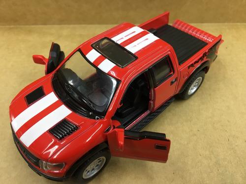 miniatura ford-f150 raptor 2013 vermelha