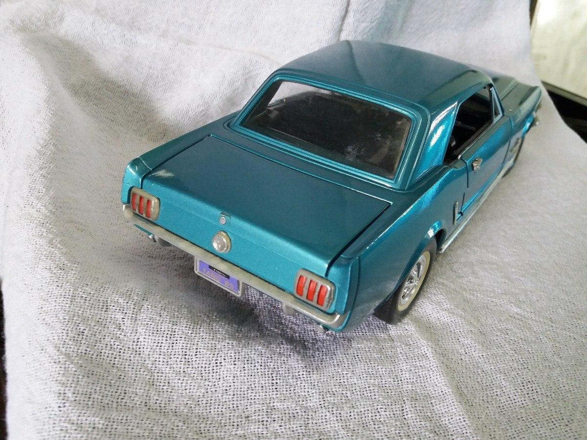 Miniatura ford mustang 1965 118 coleção mira espanha carregando zoom