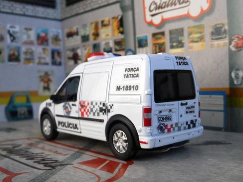 miniatura ford transit polícia militar pm sp - atual