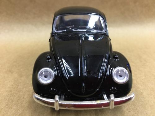 miniatura fusca  1967 cor preta rodas originais