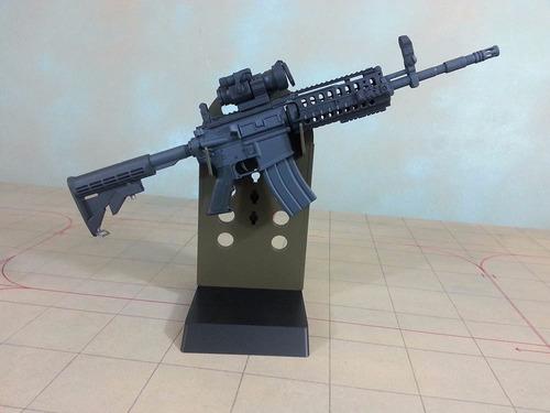 miniatura fusil de asalto m4 s.i.r. escala 1:3