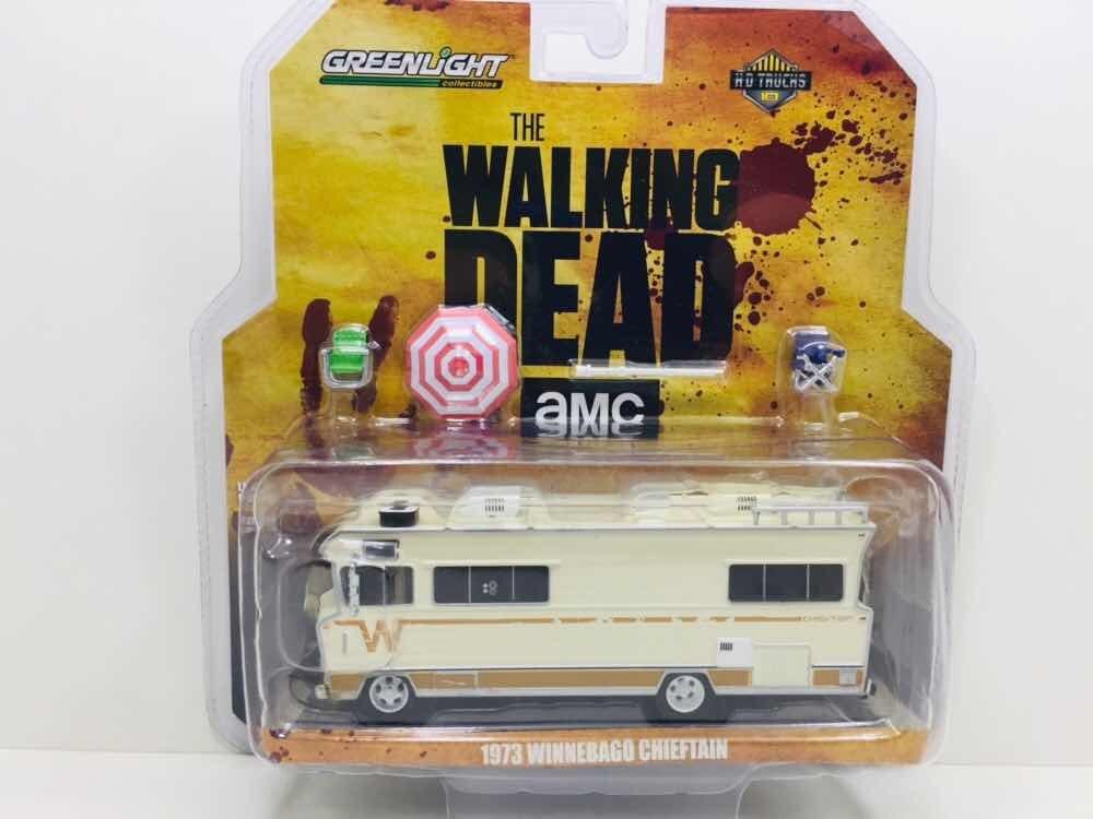 710fae2acc Miniatura Trailer Winnebago The Walking Dead Greenlight 1/64 - R ...