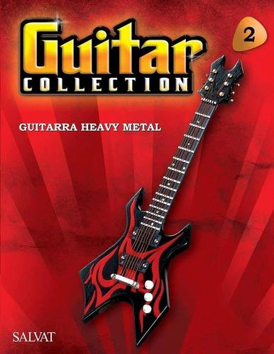 miniatura guitarra heavy metal guitar collection salvat 2