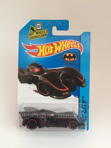 miniatura hot wheels batmobile - 1/64